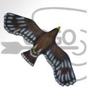 3D-0143 Flying Golden Eagle
